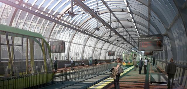 Pestka dojedzie do peronu 7 dopiero po Euro. Ale budowa rozpoczęła się właśnie dzięki mistrzostwom