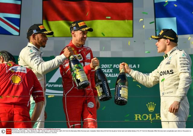 To drugie zwycięstwo Vettela w Melbourne