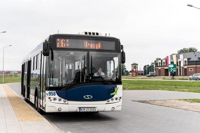 Podczas zamknięcia drogi powiatowej linie 221 i 264 oraz autobus B2 będą kończyły kursy na pętli w Brzegach