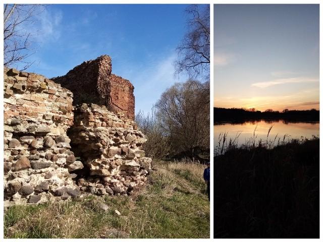 ZŁOTORIA, GMINA LUBICZ, POWIAT TORUŃSKIWielbicieli historii przyciągają ruiny zamku w Złotorii z połowy XIV wieku. Dodajmy, że położonego w magicznym miejscu, bo - dosłownie u ujścia Drwęcy do Wisły. Zachowanymi elementami zamku, który powstał na miejscu drewnianego grodu książąt mazowieckich, są fragmenty wieży bramnej i murów obwodowych.