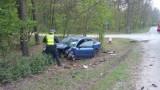 Wypadek w Pędzewie pod Toruniem. Trzy osoby w szpitalu, w tym małe dziecko [zdjęcia]