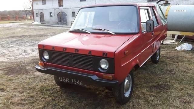 Tarpan był określany jako rolniczy samochód, produkowano go w Wielkopolsce