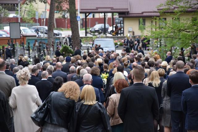 Pogrzeb Pawła Buczki. Pełnił funkcję szefa podlaskiego sanepidu