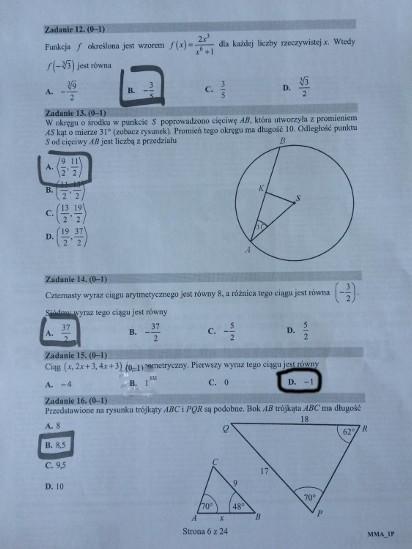 teraz matura 2021 matematyka poziom podstawowy pdf