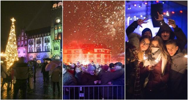 Sylwestrowe imprezy z poprzednich lat w Słupsku