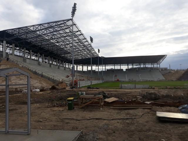 Stadion Pogoni - stan 16 maja 2020