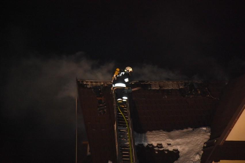 Pożar Bukowina Tatrzańska - 2.02.2019