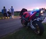Śmiertelny wypadek w Chodybkach: Zderzyli się dwaj motocykliści [ZDJĘCIA]