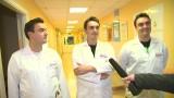 Lekarze trojaczki na dyżurze. Pracują tam, gdzie się urodzili [WIDEO]