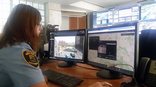 Centrum monitoringu w Katowicach