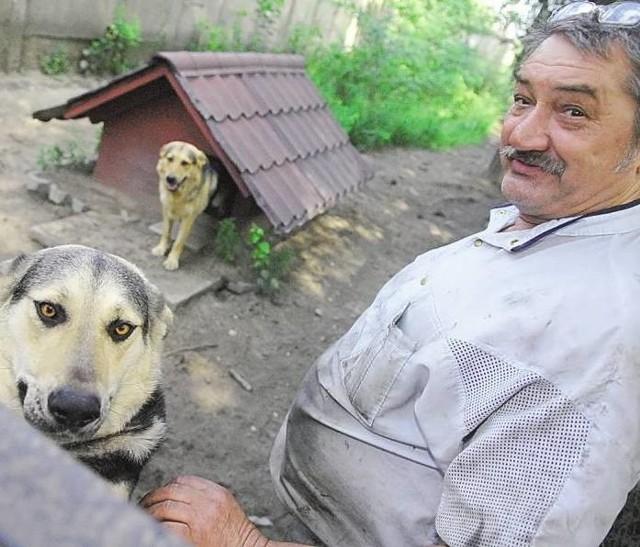 Jan Marczak przekonuje, że jego psy nie zrobiłyby nikomu krzywdy