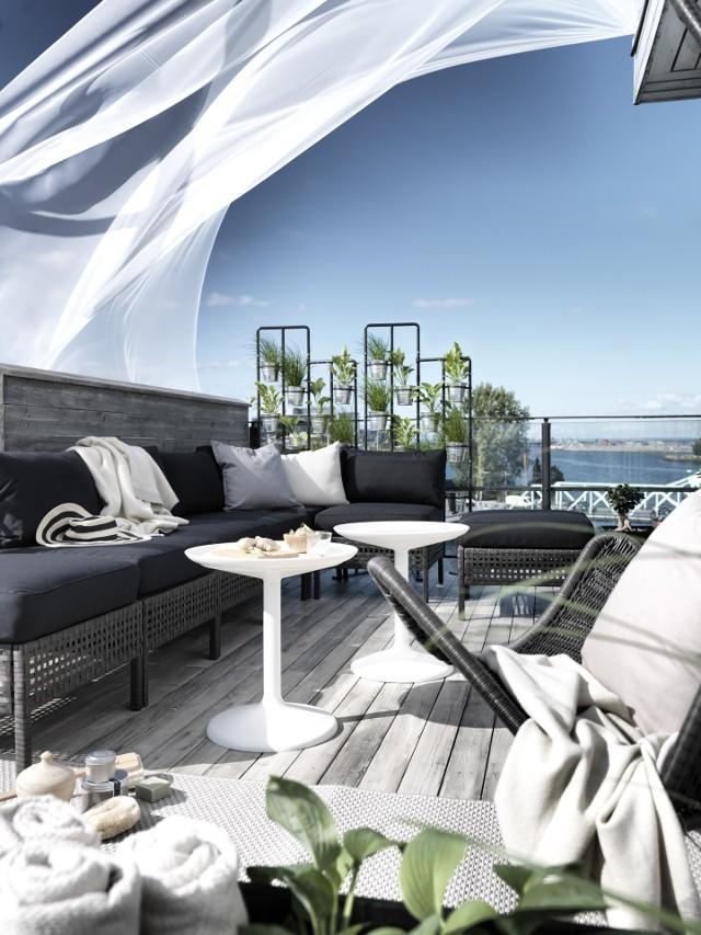 Wiosenny ogród i balkon w stylu IKEA (ZDJĘCIA)Wiosenny ogród i balkon od IKEI (ZDJĘCIA)