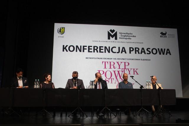 17 czerwca odbyła się konferencja prasowa dotycząca przygotowywania multimedialnego widowiska w Bytomiu. Zobacz zdjęcia >>>