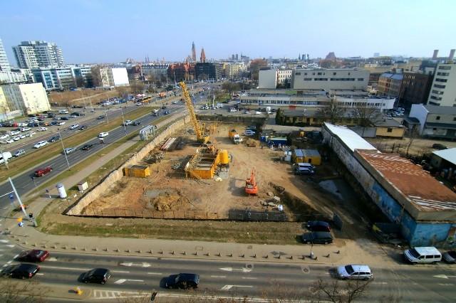 Rusza budowa biurowca Infinity we Wrocławiu.