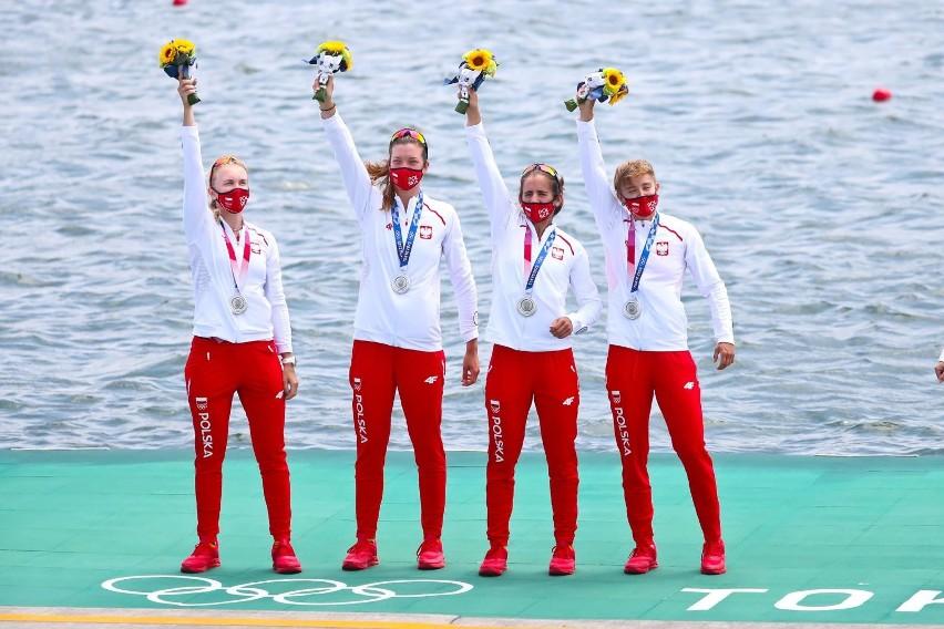 Polska czwórka podwójna kobiet zdobyła srebro w Tokio 2020