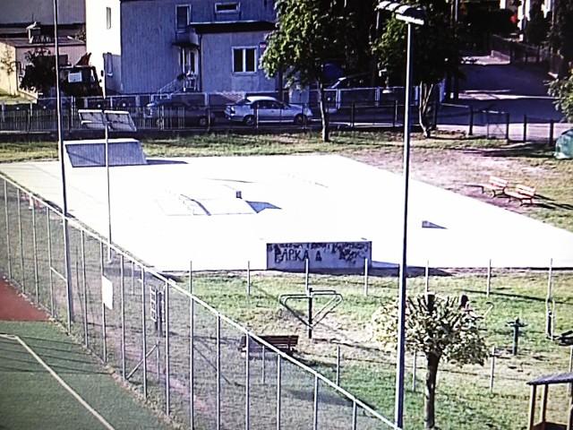 Kamery widzą m.in. skatepark o każdej porze dnia i nocy