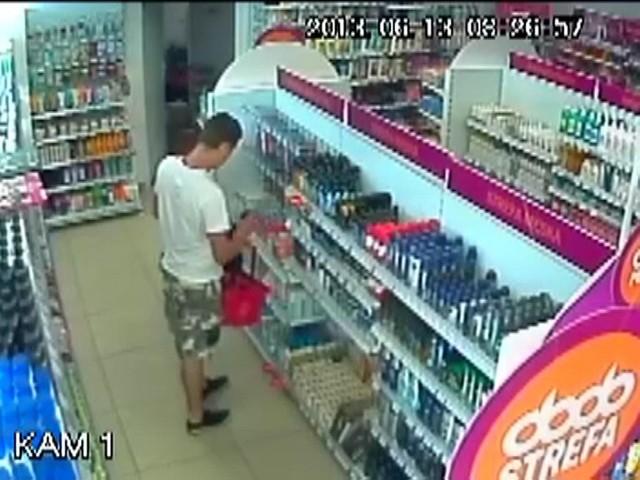 Sklepowi złodziej często wpadają dzięki filmom z monitoringu.