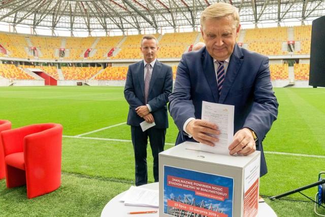 Ruszyły społeczne konsultacje w sprawie nazwy Stadionu Miejskiego w Białymstoku
