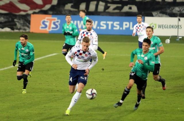 27.02.2021 r. Górnik Zabrze - Legia Warszawa 1:2.