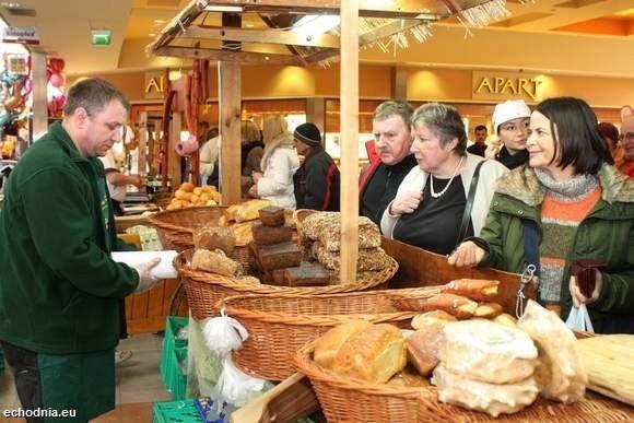 Jarmark produktów regionalnych w Galerii Echo w Kielcach