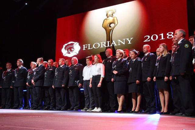 11 maja 2018 r. w Centralnym Ośrodku Sportu TORWAR w Warszawie podczas Gali Finałowej II edycji Konkursu FLORIANY poznaliśmy 19 zdobywców Strażackich Oscarów!