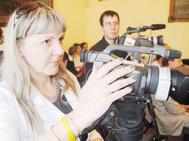 Materiały przygotowują teraz tylko dwie osoby: Iwona Ciesielska-Dąbrowska i Dawid Wiecki
