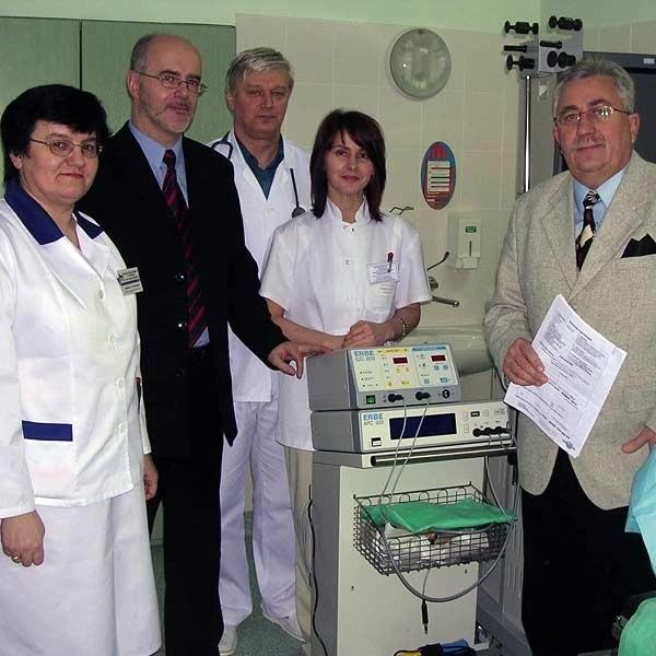 Z nowego sprzętu cieszą się wszyscy pracownicy tarnobrzeskiego szpitala