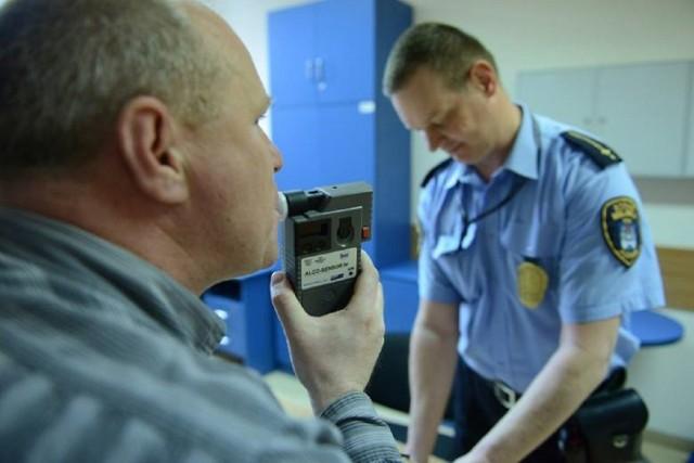Straż Miejska w Bydgoszczy wstrzymuje do odwołania badania na zawartość alkoholu.