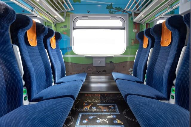Tak wyglądają nowe wagony na polskich torach.