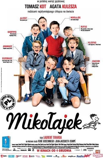 """Mikołajek i jego koledzy w """"Jantarze""""."""