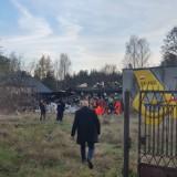 Wybuch gazu w domu we Włodzimierzowie pod Piotrkowem. Budynek zawalony, trwa akcja służb. Ludzie są uwięzieni pod gruzami [ZDJĘCIA, FILM]