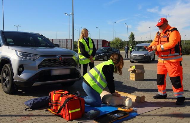 We wtorek 21 września na autostradzie A1 w Nowej Wsi (powiat toruński) zorganizowano ROADPOL Safety Days