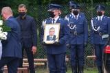 Pogrzeb Marcina Szpyruka [ZDJĘCIA] Policjant, który zginął ratując 12-latkę przed utonięciem, został pochowany w Siedlcach
