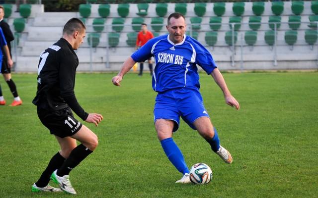 Mariusz Gnoiński ze Śląska Łubniany ma już na koncie cztery bramki.