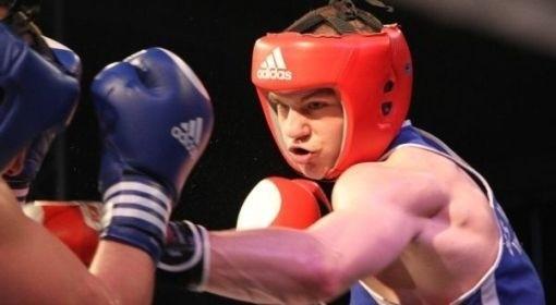 Mateusz Gątnicki (Paco Team Lublin) walczył w kategorii wagowej 81 kg