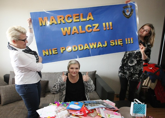 Poprosiliśmy mieszkańców, aby napisali dla Marceli urodzinowe kartki lub nagrali się na filmikach. Odzew na naszą akcję był ogromny! Do naszej redakcji Czytelnicy przesłali setki urodzinowych kartek i listów.