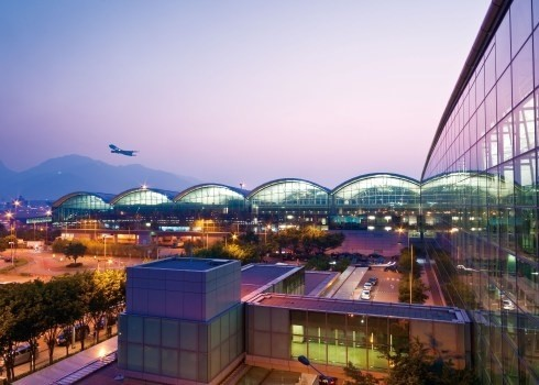 Lotnisko w Hong Kongu