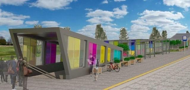Z nowego parkingu Bike&Ride w Mysłowicach zostały póki co wizualizacje. Czy w końcu uda się go wybudować?