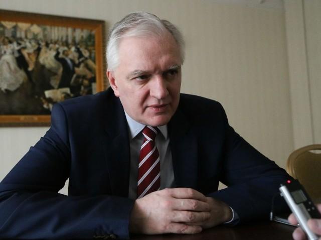 Jarosław Gowin: Przeciek to nie była wpadka rządu, ale samej Komisji Weneckiej