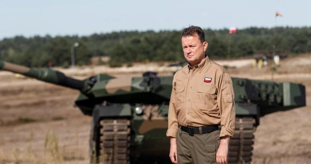 Minister obrony narodowej Mariusz Błaszczak zakażony koronawirusem