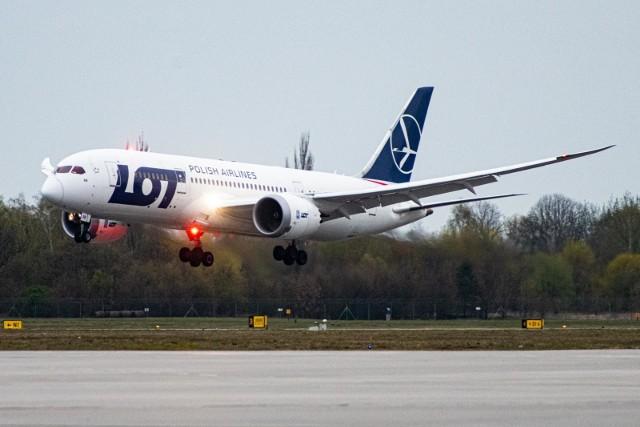 Od 1 czerwca PLL LOT przywrócą połączenia krajowe, w tym loty z Poznania do Warszawy