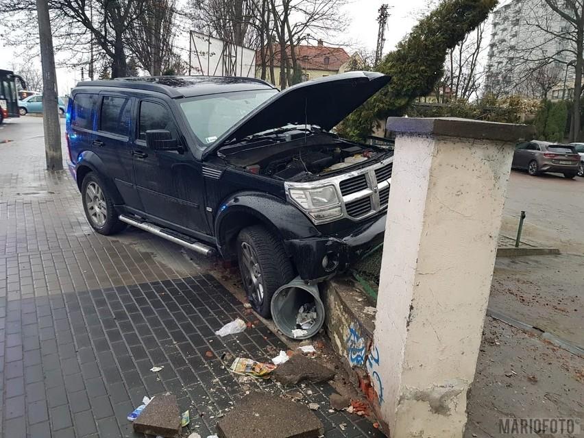 Sprawca zdarzenia na ul. Niemodlińskiej w Opolu odpowie przed sądem.