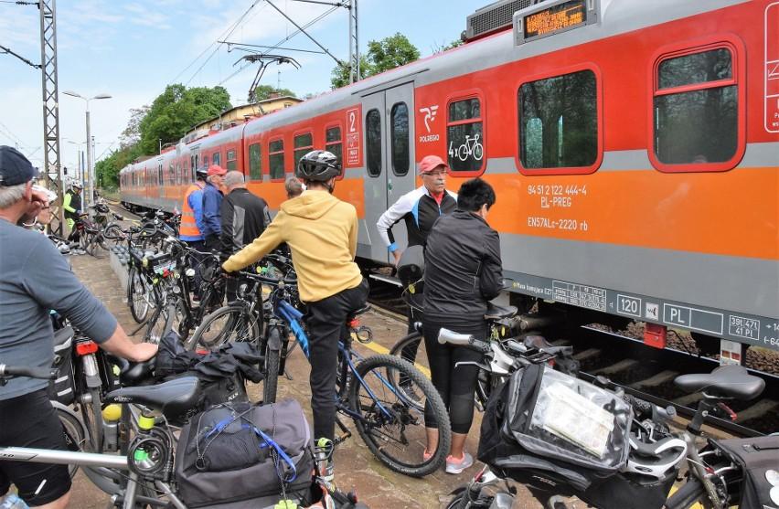Cykliści zrzeszeni w Komisji Turystyki Rowerowej przy...