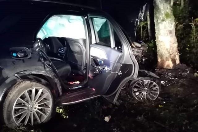 Do groźnego wypadku doszło w środę późnym wieczorem na drodze wojewódzkiej 112 w okolicach miejscowości Leszczyn.