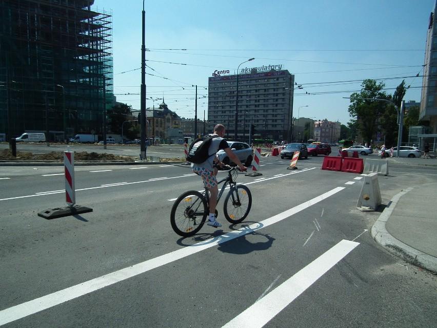 Kierowcy i rowerzyści krytycznie o Kaponierze