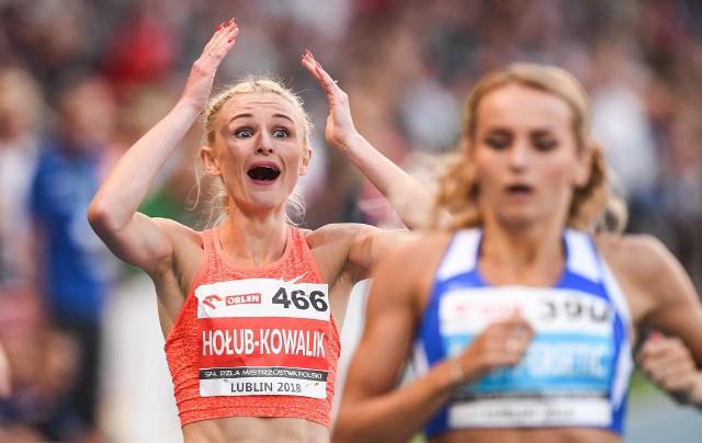 Małgorzata Hołub-Kowalik nie mogła uwierzyć, gdy zobaczyła swój świetny czas w finale 400 metrów