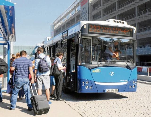 Autobus linii nr 292 do tej pory łączył Balice z centrum miasta