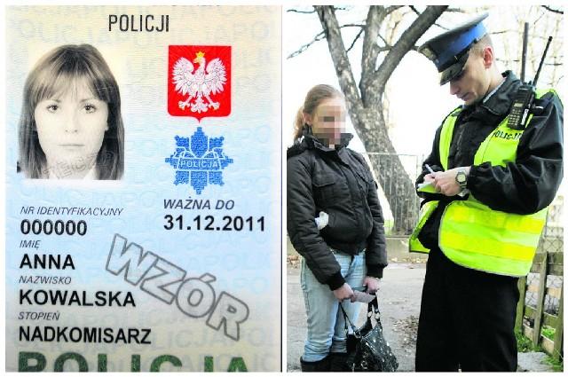 Każdy policjant musi pokazać obywatelowi swoją legitymację służbową. I to tak, by można było przeczytać nazwisko i stopień. Funkcjonariusze mają też odznakę z numerem służbowym (tzw. blachę)