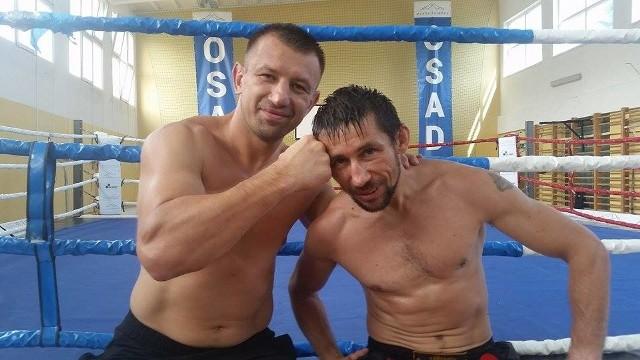 Tomasz Adamek i Mariusz Cieśliński.