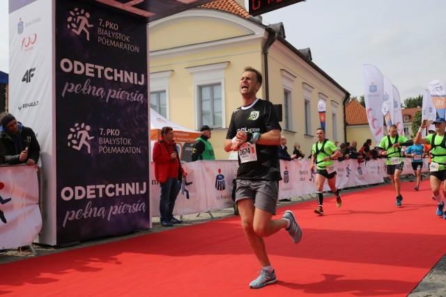 8. PKO Białystok Półmaraton został przeniesiony na termin późniejszy. Tak było na mecie w ubiegłym roku